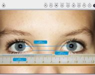 Measuring eyes